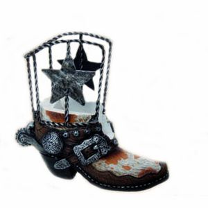 Westernstiefel Kartenhalter - Boot Name Card Holder
