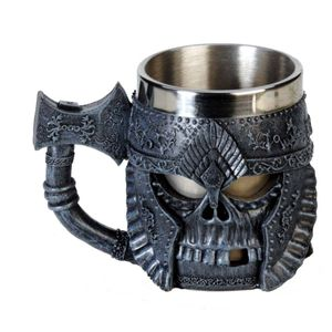 Trinkbecher Totenköpfe - Dragon Cup Steel 4er-Set – Bild 3