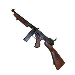 Deko Maschinenpistole Thompson M1 (M1A1) Militärversion Stabmagazin