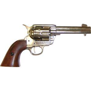 Colt Peacemaker Kal. 45 vernickelt  USA 1873