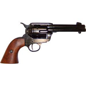 "Schwarzer 4,75"" Deko 45er Colt Peacemaker 1873"