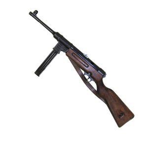 Deutsche Deko Maschinenpistole Schmeisser MP 41 mit Trageriemen