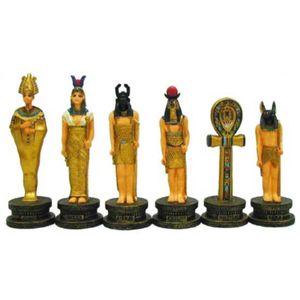 Schachfiguren Ägypten-Ägypten bunt – Bild 2
