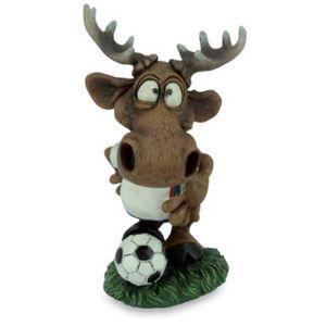 Funny Elch Swen - Fußballer Elch mit Ball und Trikot