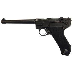 Luger Deko Pistole Marine 04 Kaliber 9mm Parabellum 1904 Kunststoffgriffschale – Bild 1