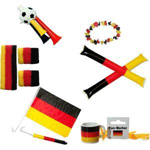 Deutschland Fan-Set 10-tlg. Fußball Set 6