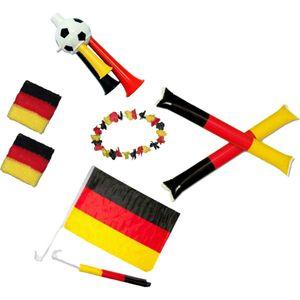 Deutschland Fan-Set 8-tlg. Fußball Set 8