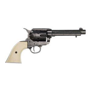 Deko Colt Peacemaker Kal. 45 grau mit Fingermulden im Griff USA 1873 – Bild 1