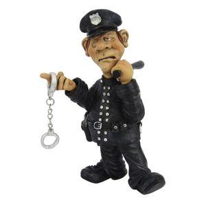 Funny Job - Polizist mit Stock und Handschellen