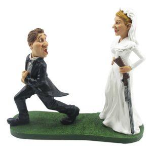 Funny Wedding - Heirate mich, oder ... - Braut mit Schrotflinte