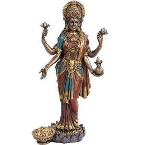 Buddha Lakshmi Göttin des Reichtums und der Schönheit mit Geldkorb