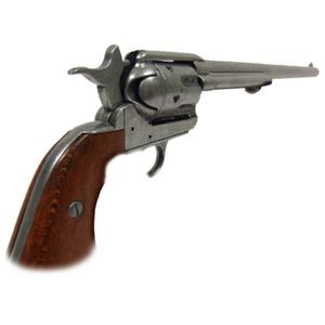 Grauer Buntline Colt Peacemaker Kal. 45 Deko 46cm USA 1873 – Bild 3