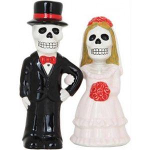 Salz & Pfeffer - Love never Dies - Skelett Brautpaar