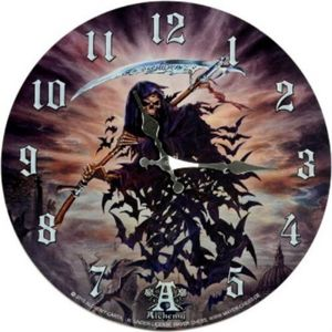 Wanduhr A Thite of Hell - Alchemy
