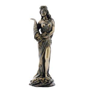 Römische Göttin Fortuna mit Füllhorn 19cm