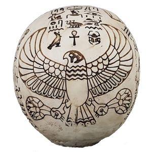 Ägyptischer Totenkopf reichlich verziert – Bild 4