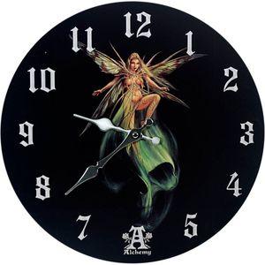 Wanduhr Absinthe Fairy - Alchemy