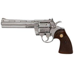 "6"" Deko Zombiekiller Revolver Colt Phyton .357 Magnum 31cm 1955"