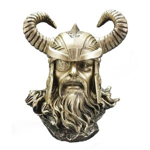 Wikinger Büste Odin - Allvater - nordischer Göttervater – Bild 1