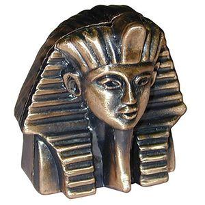 Ägyptischer Pharao Tutanchamun Bronzefarben, Bleistiftspitzer