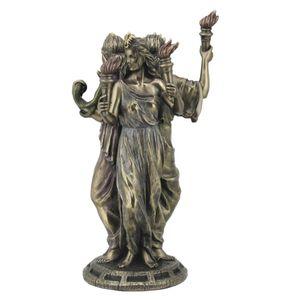 Hekate griechische Göttin der Magie bronziert