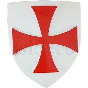 Dose Wappen Templer Kreuzritter mit kleinen Wappen der Großmeister 15cm – Bild 3