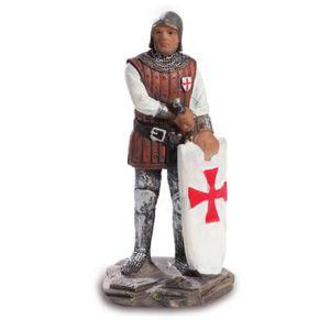 Templer Kreuzritter Guillaume de Chartres 14. Großmeister 10cm – Bild 1