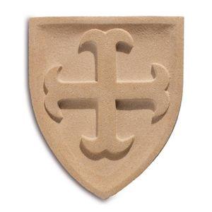 Wappen Wandbild Orden St. Salvator 23cm – Bild 1