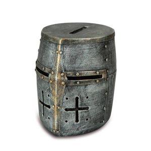 Spardose Helm der Templer Kreuzritter 9cm – Bild 1