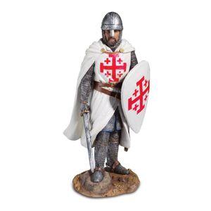 Kreuzritter mit Schild und Schwert vom Heiligen Grab zu Jerusalem 26cm – Bild 1