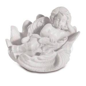 4er Set kleine Engelchen liegen auf Muschel 7,5cm – Bild 5