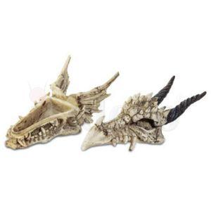 Schmuckdose Skelett Drachenschädel 19cm – Bild 2