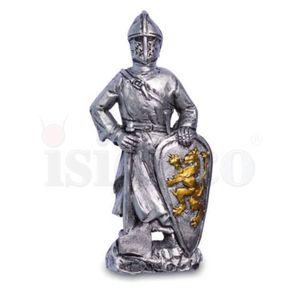 6er Set Magnete Templer Kreuzritter und silberne Ritter 8cm – Bild 4