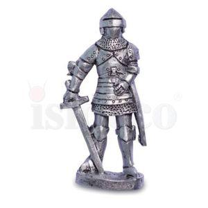 6er Set Magnete Templer Kreuzritter und silberne Ritter 8cm – Bild 5