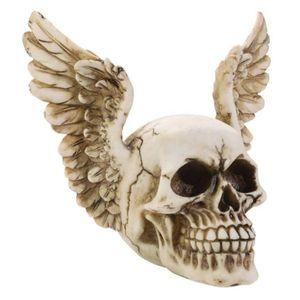 Totenkopf mit Flügelohren 16cm