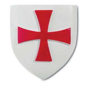 Magnet Wappen der Templer Kreuzritter 5,3cm