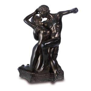 Ewiger Frühling 15,5cm bronziert nach Eternel Printemps von Auguste Rodin – Bild 1