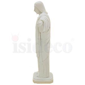 Christus Statue 15,5cm weiß nach Cristo Redentor in Rio de Janeiro – Bild 5