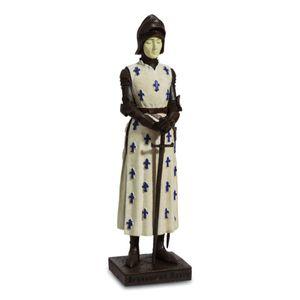 Statue Johanna von Orleans wie in der Kathedrale in Reims 20,5cm