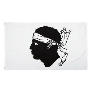 Fahne Flagge von Korsika 90x150cm