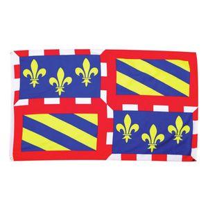 Fahne Flagge der Region Burgund 90x150cm