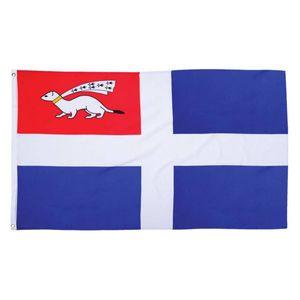 Fahne Flagge von Saint Malo 90x150cm
