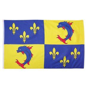 Fahne Flagge von Dauphine 90x150cm