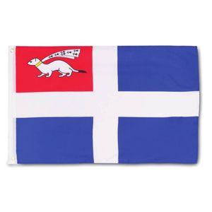 Fahne Flagge von Saint Malo 60x90cm