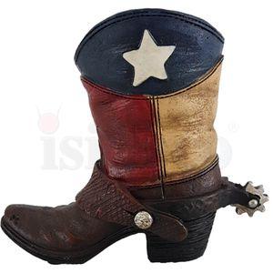 Western Stiftehalter Texas Flagge 11,5cm – Bild 5