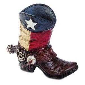 Western Stiftehalter Texas Flagge 11,5cm – Bild 1