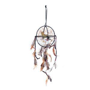 Western Indianer Kugel Traumfänger mit Wolf 14cm