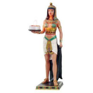 Ägyptische Prinzessin als Teelichthalter 30cm – Bild 1