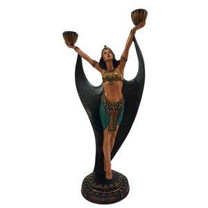 Ägyptische Tänzerin als doppel Teelichthalter 40,5cm – Bild 2