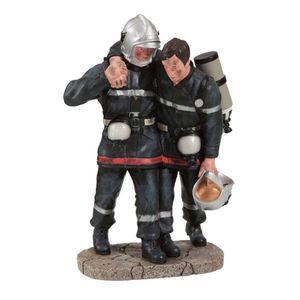 Feuerwehr Mann 20cm mit geretteten Kollegen